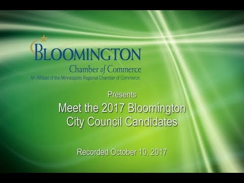 Bloomington Chamber: Meet the 2017 Bloomington City Council Candidates