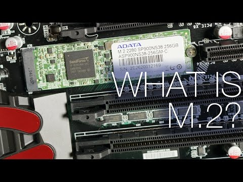 What is M 2? PCIe SSDs Explained  ft  ADATA SP900 M 2 - YouTube
