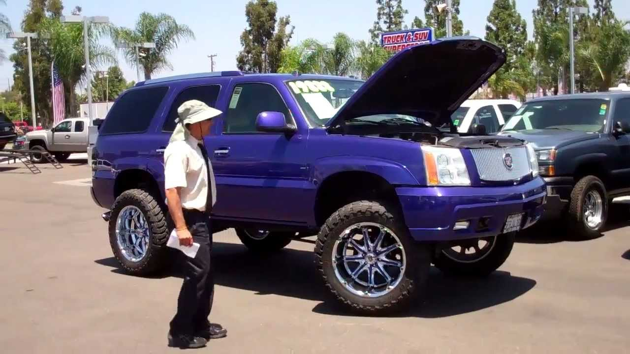 101087 custom 2004 cadillac escalade off road lifted youtube 101087 custom 2004 cadillac escalade off road lifted