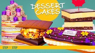 4 Decadent Dessert CAKES Compilation  Dessert Inspired CAKES  How To Cake It  Yolanda Gampp