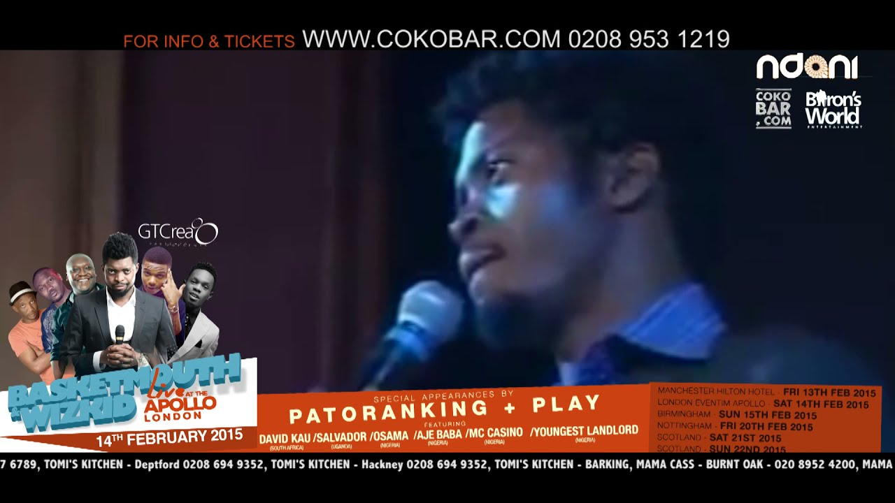 Download BASKETMOUTH - 2 THINGS INVOLVED - BASKETMOUTH LIVE AT THE APOLLO