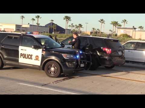 National City: CVPD conducts a Manhunt 03282017
