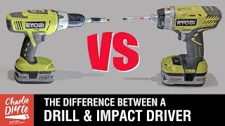 Difference Between Drill Drivers Impact Drivers