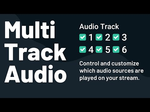 How to use multi-track recording in Streamlabs OBS