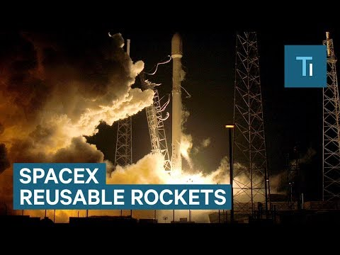 How SpaceX Salvages Falcon 9 Rockets