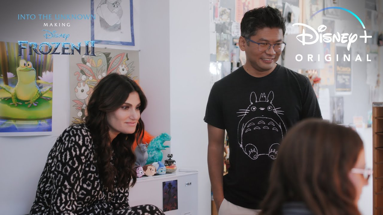 Idina Menzel Drops In Clip l Into the Unknown: Making Frozen 2 | Disney+