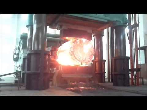 5000 ton open die forging press