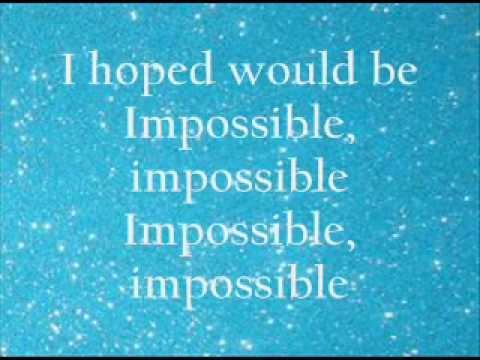 James Arthur - Impossible [LYRICS]