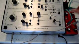 PASCO Dual Function Generator + modulation