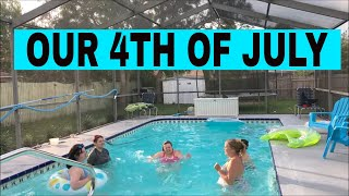 OUR 4TH OF JULY