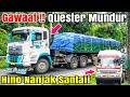 Gawaat !! Trailer QUESTER Terhenti ! Habis Nafas,Trailer Hino Muatan Sama Santai,Fuso fighter nanjak