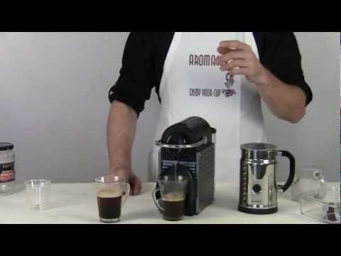 How to make a cup of coffee with nespresso