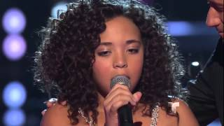"Paola Guanche canta ""I will always love you"" en ""La Voz Kids"""