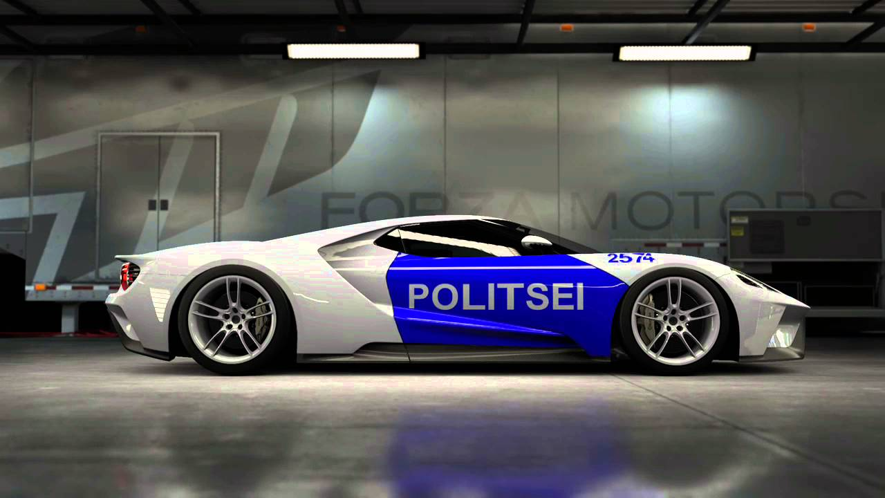 Forza   Ford Gt Police Design