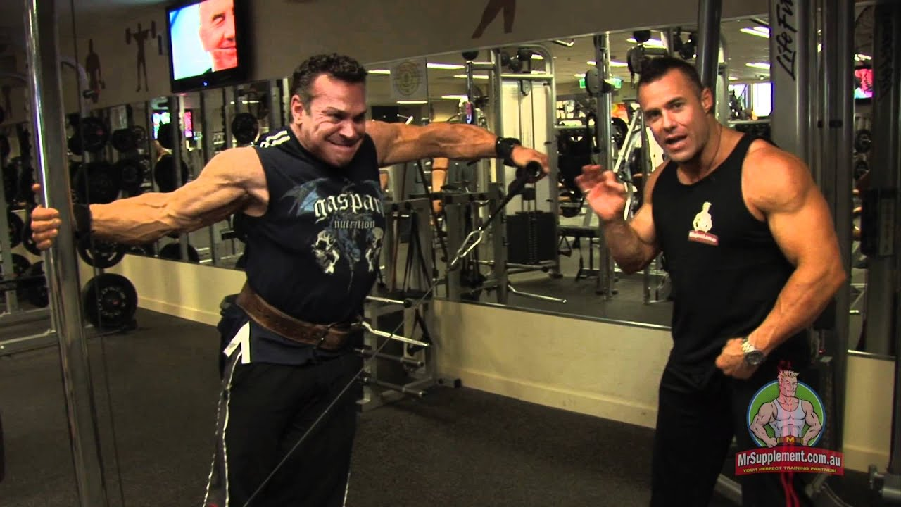 chair exercises on cable tv large garden covers rich gaspari side lateral raise youtube