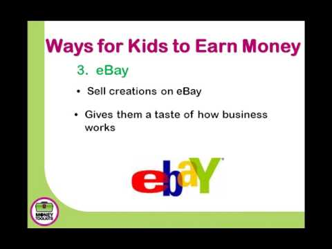 Simple and Easy Ways Kids Can Earn Money Around the Home - YouTube