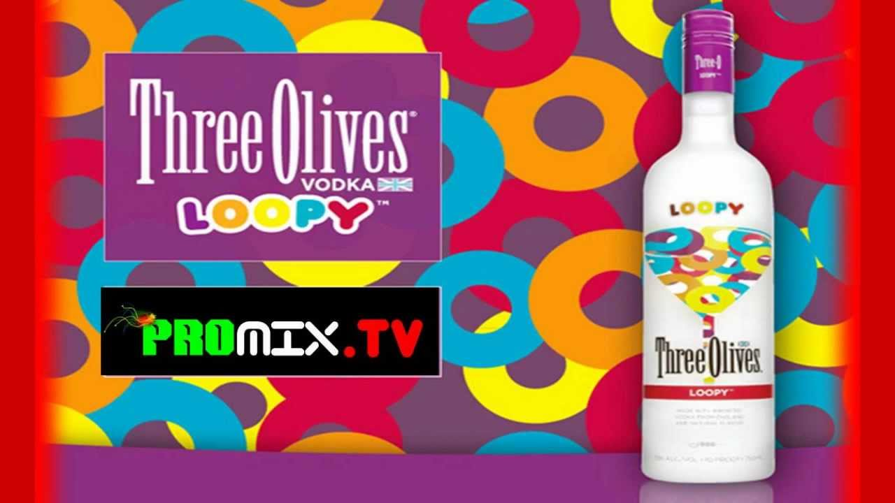 Three Olives Loopy Vodka - REVIEW / TASTE TEST - YouTube