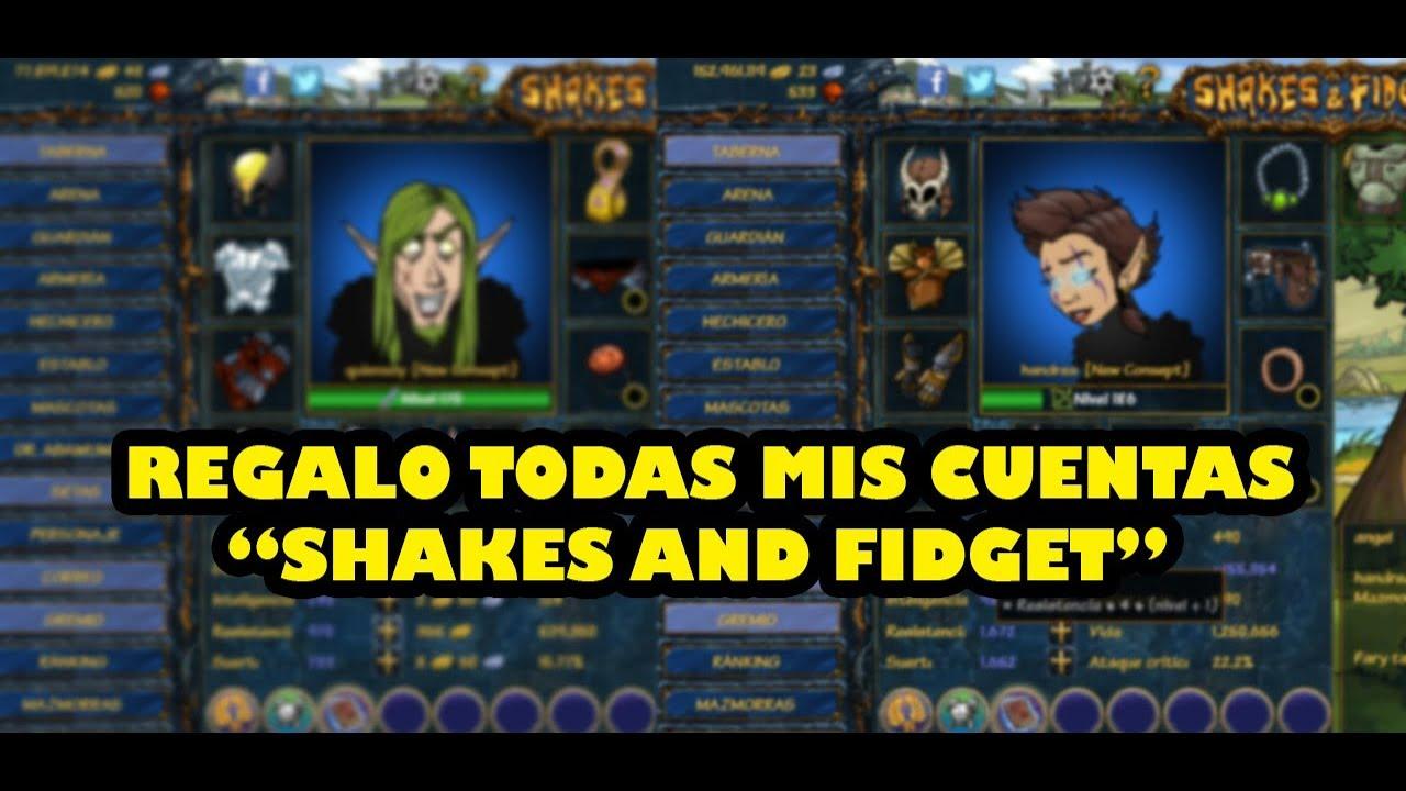 Regalo Mis Cuentas De Shakes And Fidget Youtube