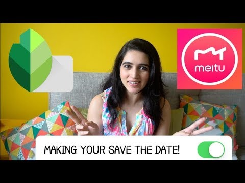 APPS TESTED TO CREATE YOUR SAVE THE DATE INVITE| Life Princess Size  💫