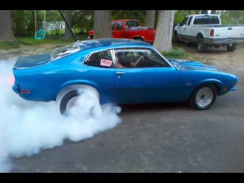 Tony's Ford Maverick Burnout