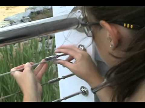 Cable Railing In 3 Easy Steps Youtube