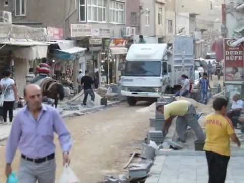 Mardin Street Work - Southeastern Turkey Travel