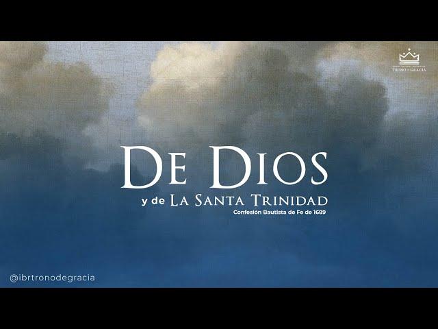 De Dios y de la Santa Trinidad / Escuela Bíblica / Hno Deivis Salinas.