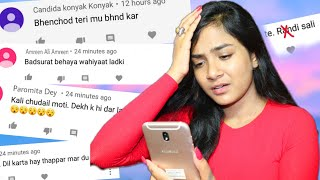Reading & Reacting to EXTREME HATE Comments | BEST Reply to Haters | Nilanjana Dhar