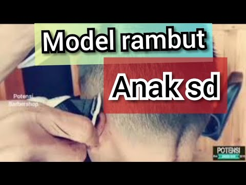 Potong rambut anak sekolah - Gaya Rambut ANAK SD - YouTube