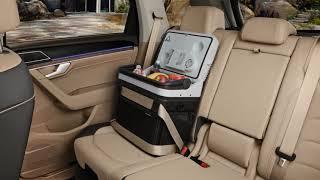 Lada frigorifică Volkswagen, pentru călătorii confortabile