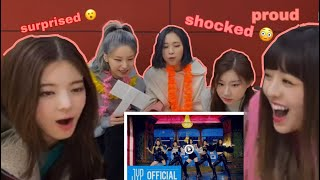 "Gambar cover ITZY (있지) REACTION TO ""WANNABE"" M/V"