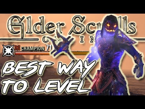 BEST WAY to LEVEL UP in ESO (Elder Scrolls Online Guide for PC, Xbox One, PS4)