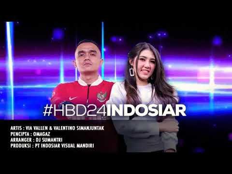 Battle-Rap Via Vallen Feat. Valentino Simajuntak HBD Indosiar 24