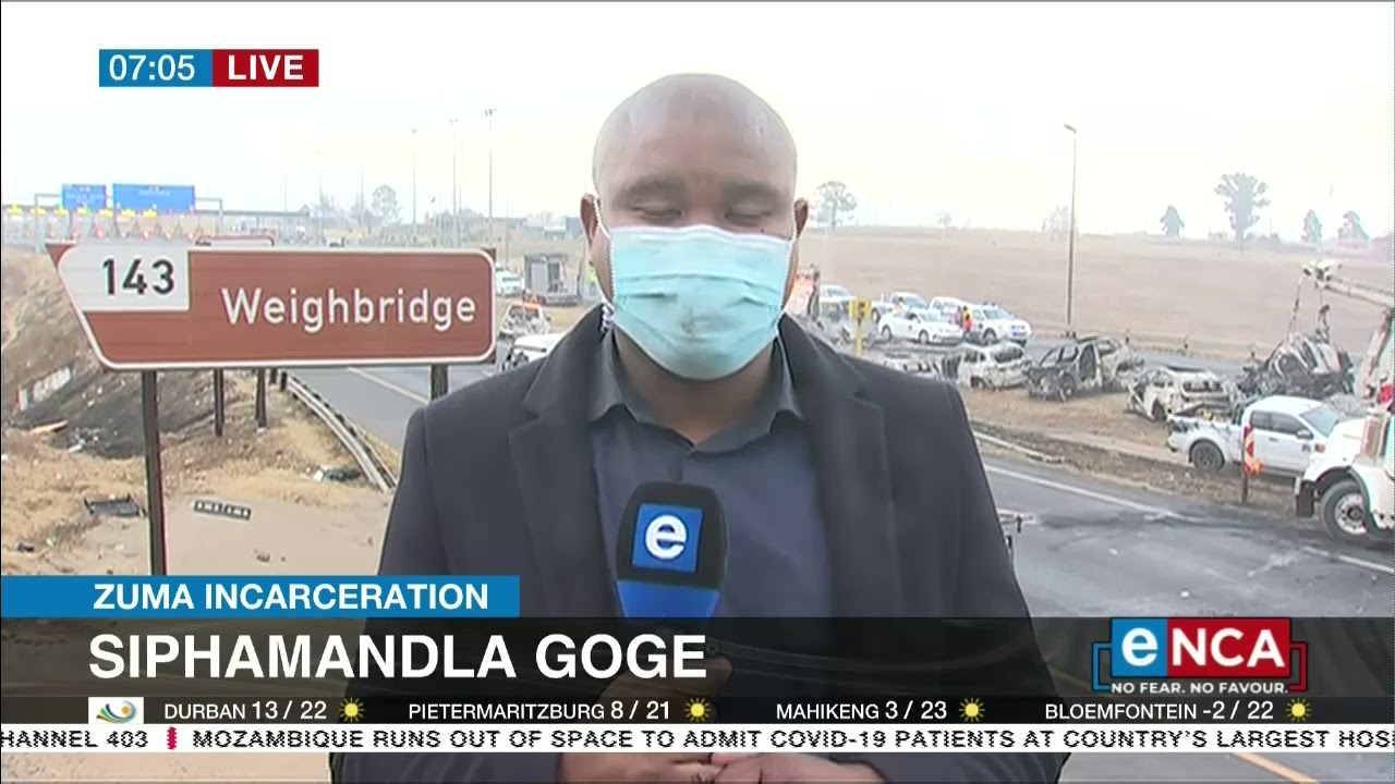 Download Clean up operations underway on the N3 highway