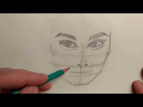 Как я прорисовываю лица на иллюстрациях