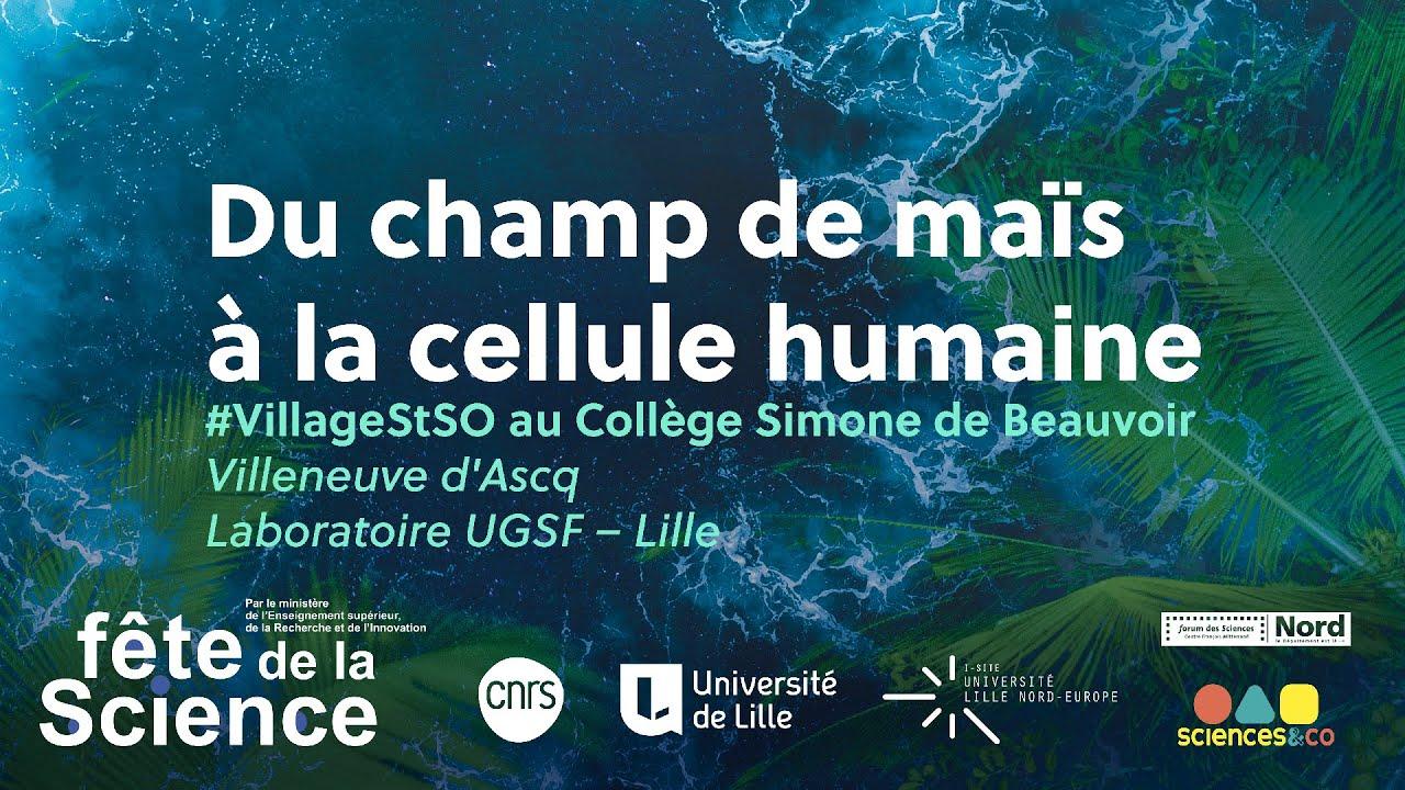 Youtube Video: #VillageSTSO - Fête de la science 2020 - 2 Octobre