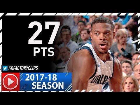 Dennis Smith Jr. Full Highlights vs Spurs (2017.11.14) - Career-HIGH 27 Pts