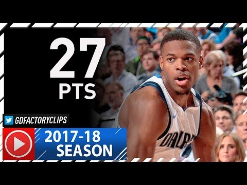Dennis Smith Jr. Full Highlights vs Spurs (2017.11.14) - Career-HIGH 27 Pts