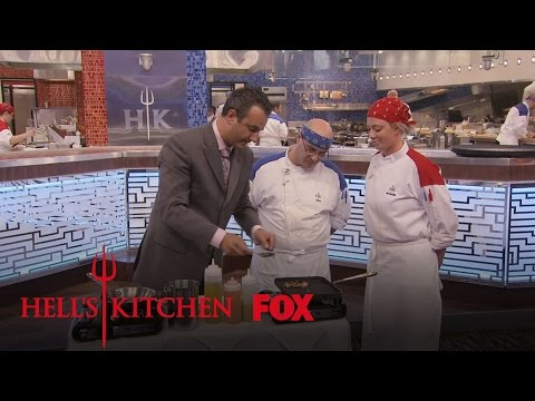 Thomas Ian Nicholas Guest Dines In The Restaurant  Season 15 Ep. 6  HELL'S KITCHEN
