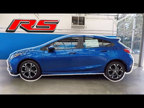 2019 CHEVROLET CRUZE LT HATCHBACK With RS Body Package - Exterior/Interior Walkaround