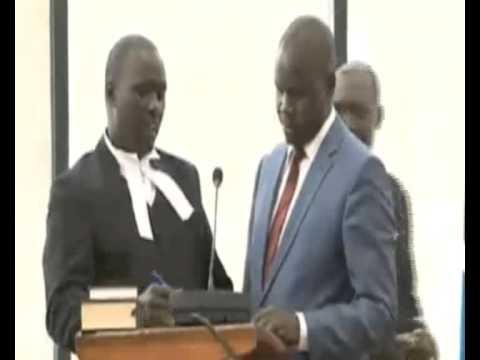 Dan Kidega sworn in as new East African Legislative Assembly  speaker