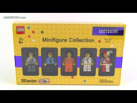 LEGO Toys R Us Bricktober 2013 Exclusive Minifig Pack #1