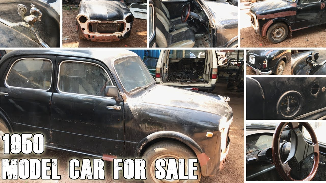 Abandoned 1950 Car for SALE - INDIA | Vintage Car Chennai - YouTube