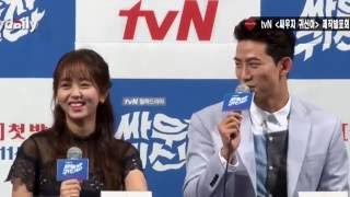 Kim So-Hyun & Ok Taecyeon: Cute Moments (BTS)