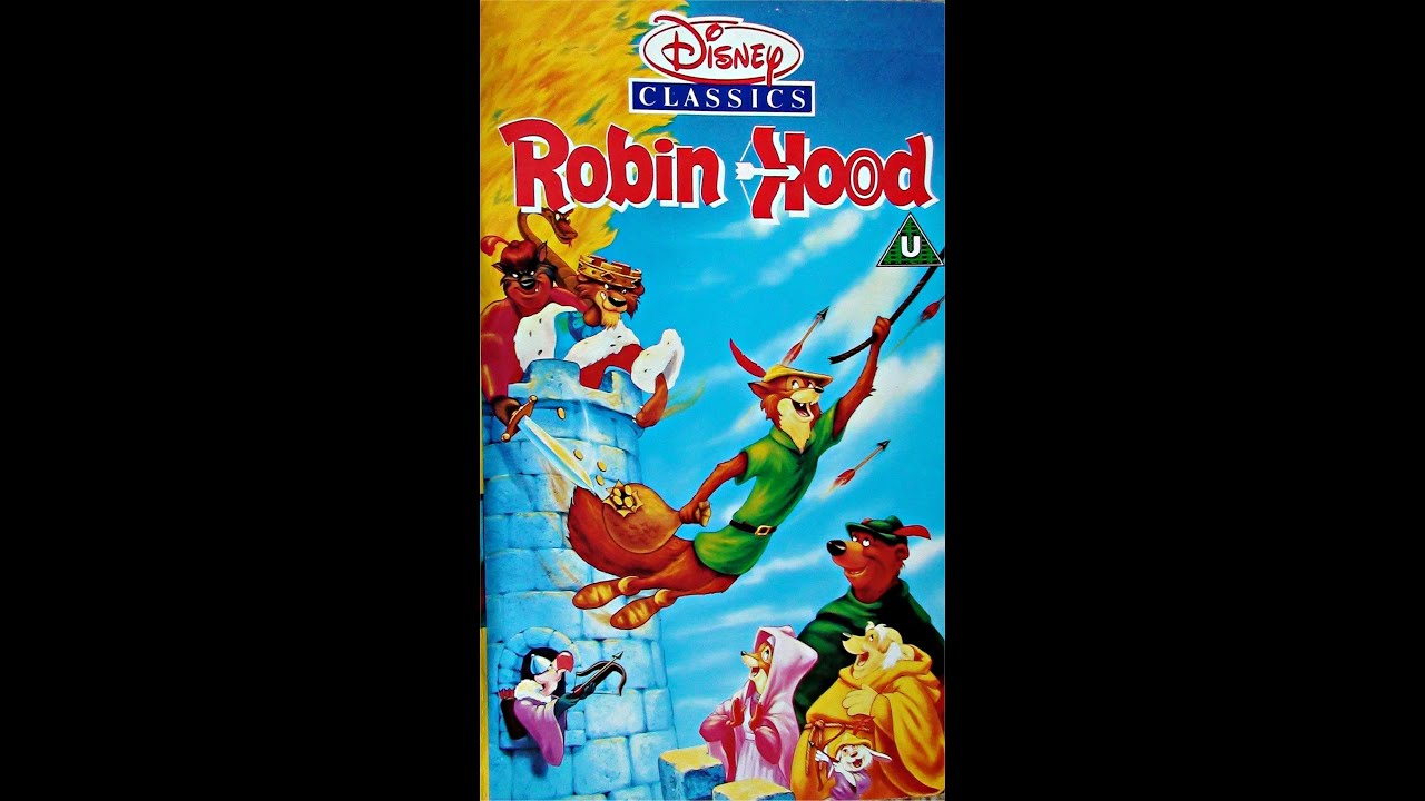 Digitized opening to Robin Hood (UK VHS)