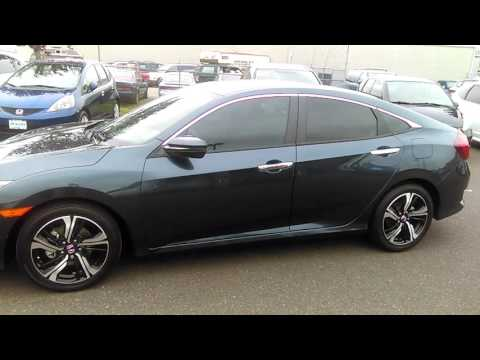 Review: 2016 Honda Civic Touring (Bellingham, WA)