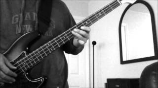 3 Doors Down - Duck and Run (bass cover)