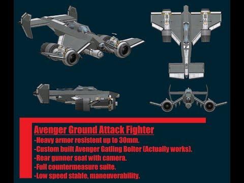 KSP/Warhammer 40k Avenger