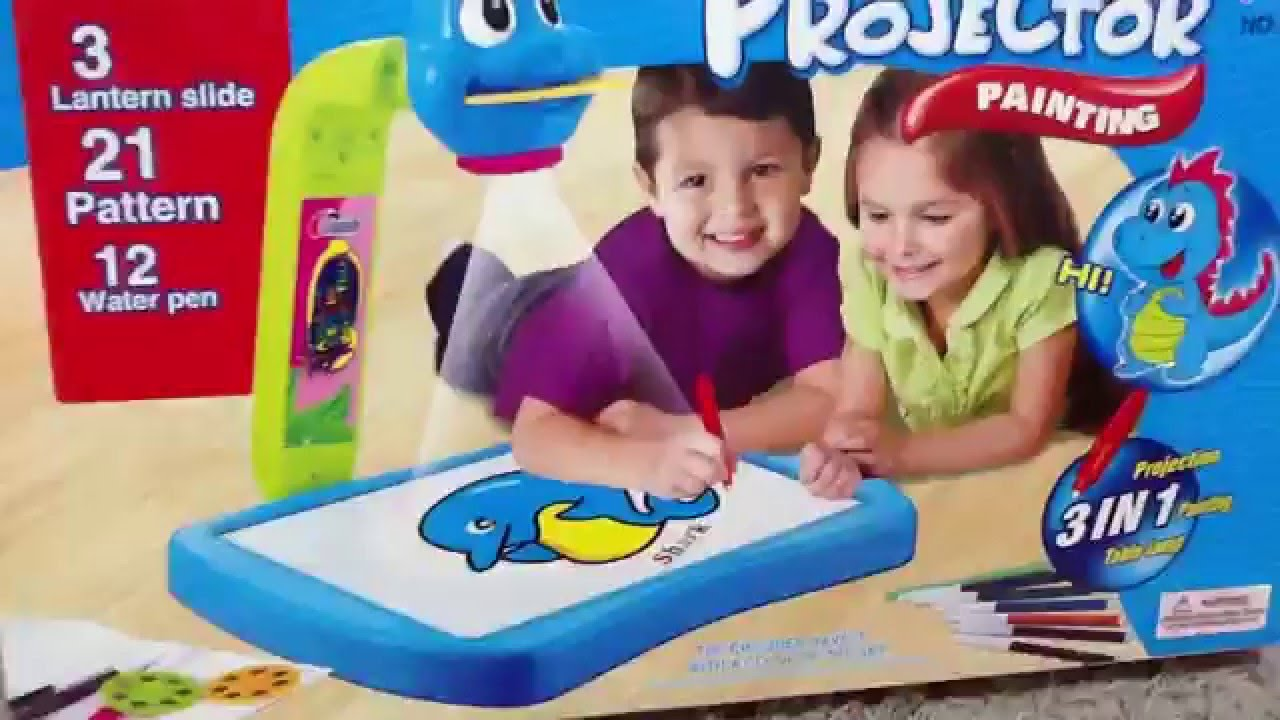 projector painting toy youtube