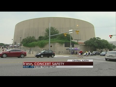 Concert venues and hospitals review safety plans